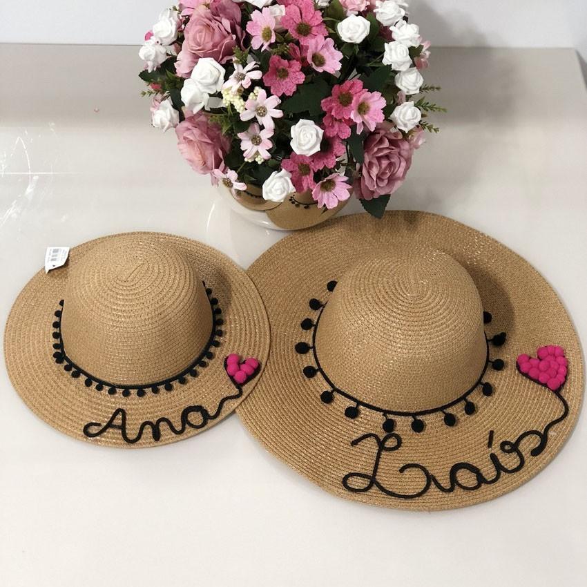 Chapéu de Praia Personalizado? Infantil