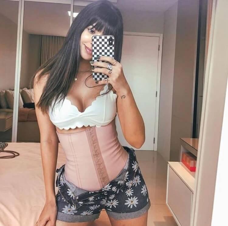 Cinta Modeladora das Famosas Emborrachada Original