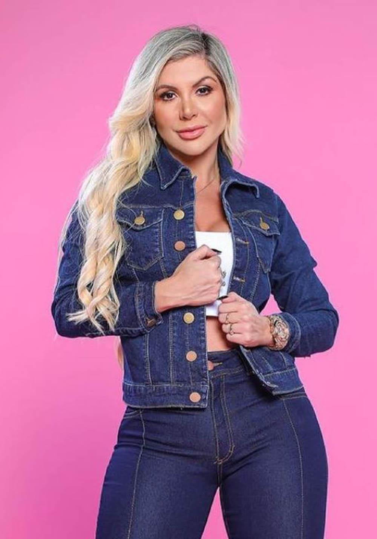 Jaqueta Jeans Premium Escura