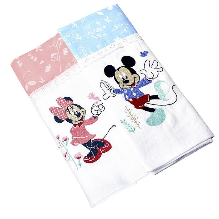 Manta de Flanela Disney  Bordada Unitária