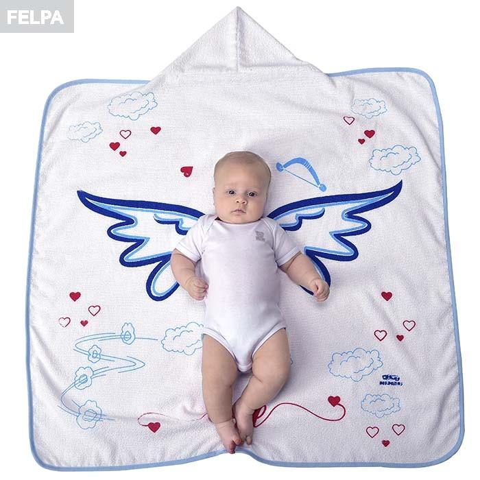 Toalha de Banho Cupido Mini Herdeiros