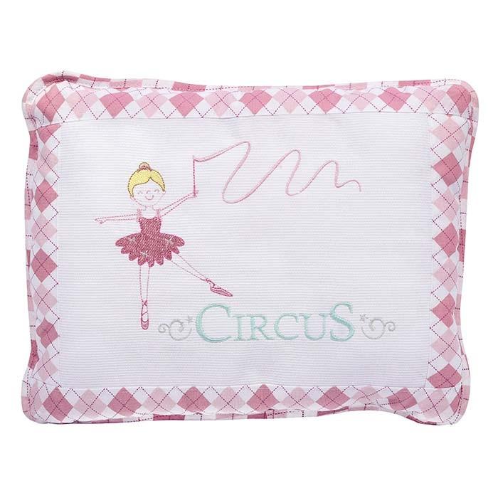 Travesseiro Bordado Circus Loupiot