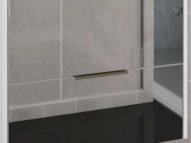 Armário Bromélia 60x60 Frente Espelho