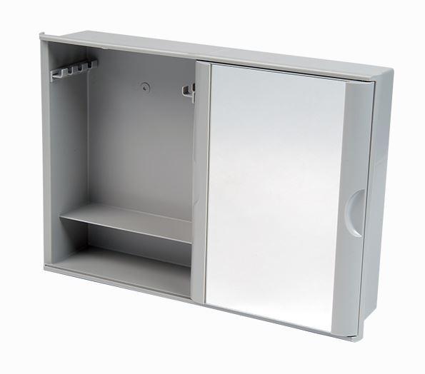 Armário Plástico Versátil com Porta de Correr