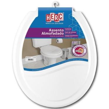 Assento Sanitário Almofadado - Branco