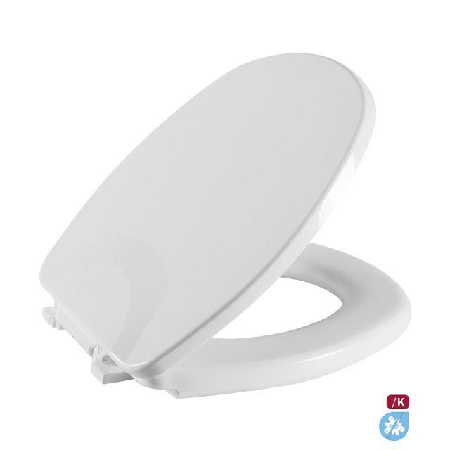 Assento Sanitário Aspen Almofodado - Branco