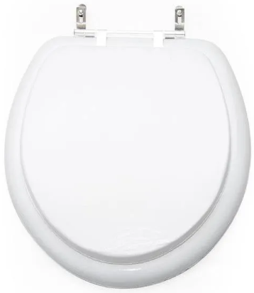 Assento Sanitário Lavanda - Branco INATIVO