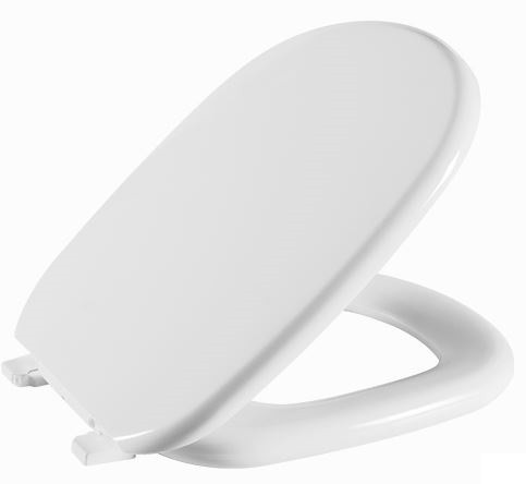 Assento Sanitário Vogue Plus Almofadado - Branco Gelo