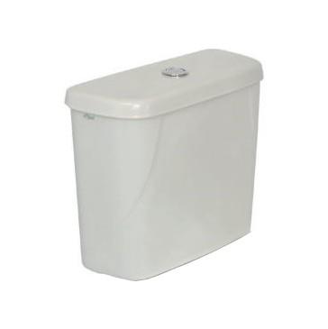 Caixa Acoplada Dual Flush Flox - Branco
