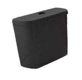 Caixa Acoplada Dual Flush Flox - Preto