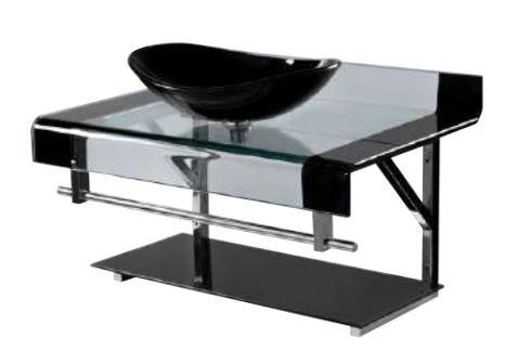 Conjunto Gabinete De Vidro Monalisa 70x50 Sem Sifão