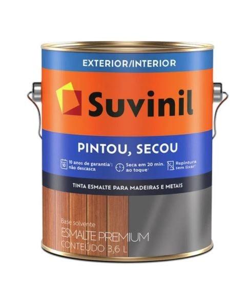 Esmalte Suvinil Pintou Secou Brilhante 3,6L