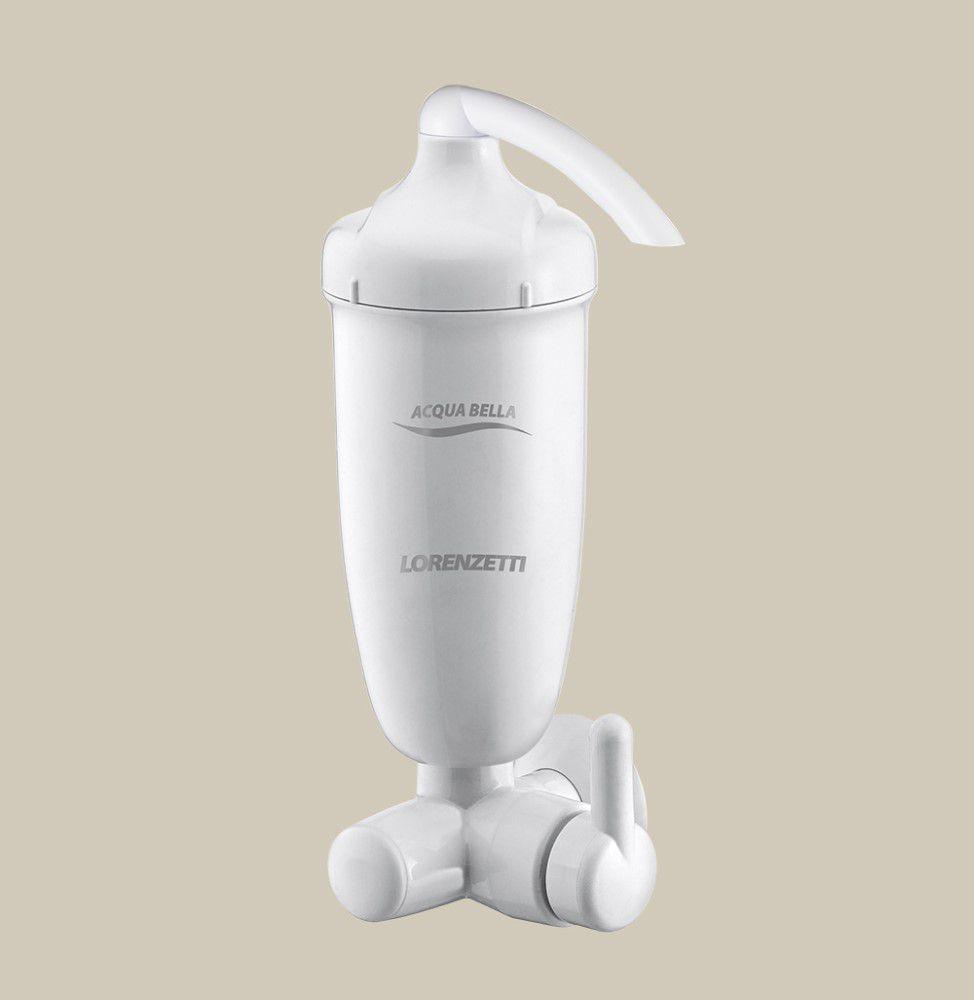 Filtro Com Registro Acqua Bella - Branco