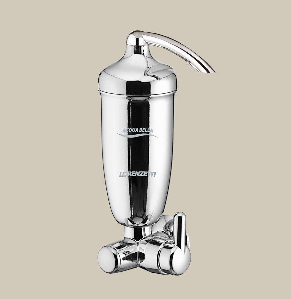 Filtro Com Registro Acqua Bella - Cromado