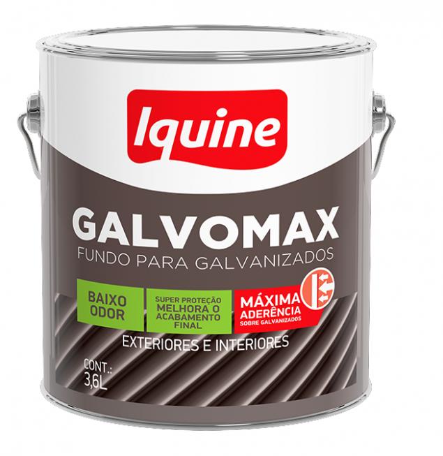 Fundo para Ferro Galvomax Branco Fosco 3,6L