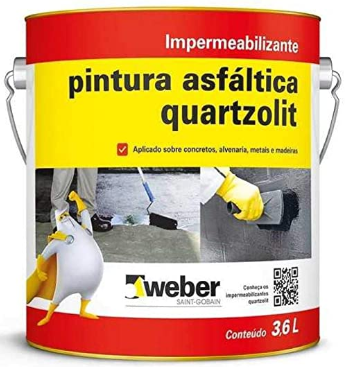 Impermeabilizante Pintura Asfáltica Acqua 3,6l