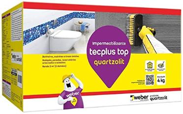 Impermeabilizante Tecplus Top 4kg