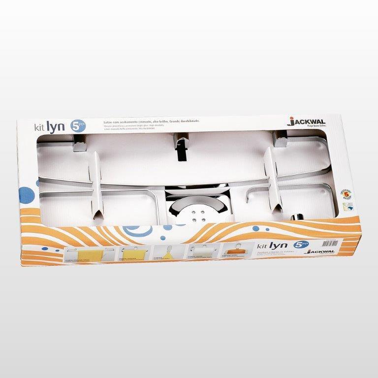 Kit Acessórios Lyn Ref: 4992 5 Peças