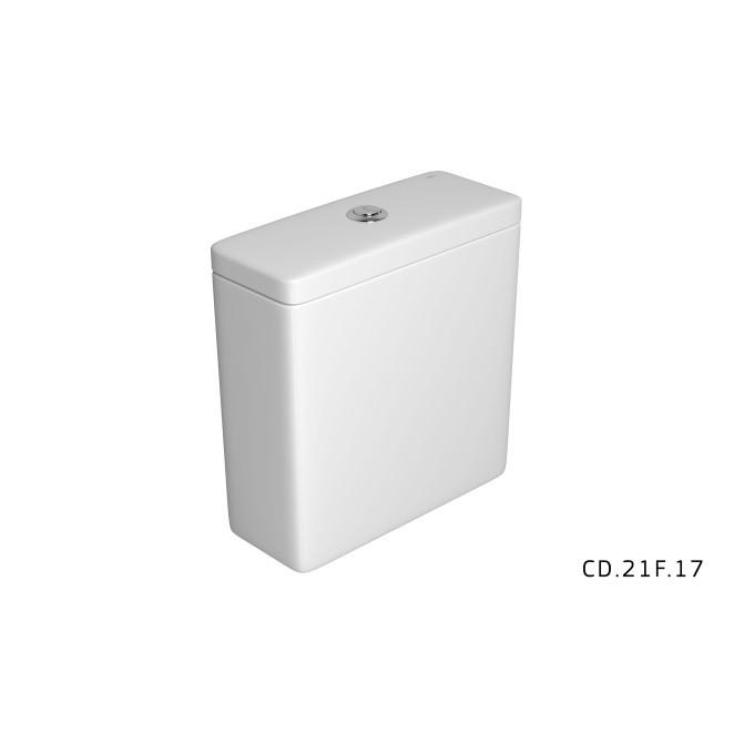 Kit Bacia Com Caixa Acoplada Quadra Branca