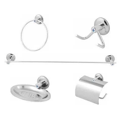 Kit Para Banheiro 5 Peças Std