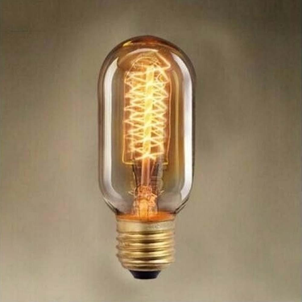 Lâmpada T45 40w 127v - Filamento De Carbono