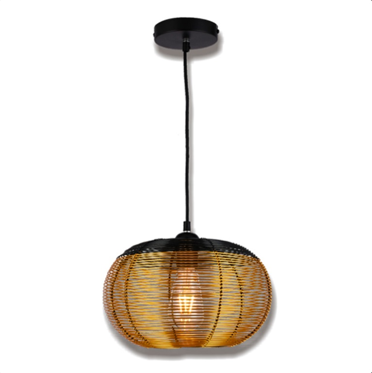 Luminária Futura Dourada Md50647-1a E27