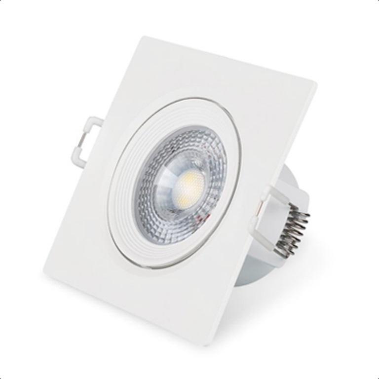 Luminária LED Spot NX-03Q 3W 6500k