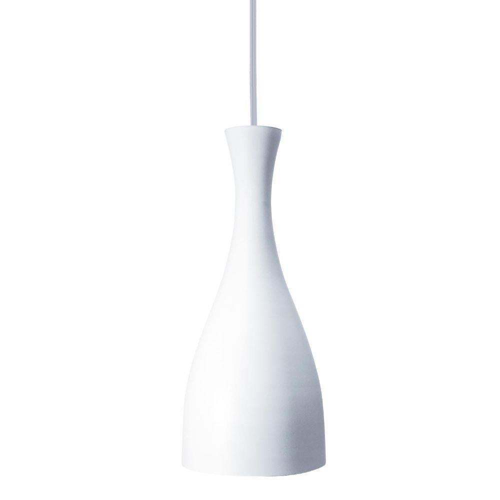 Luminária Pendente Design Td 1003 E-27 Fosco - Branco