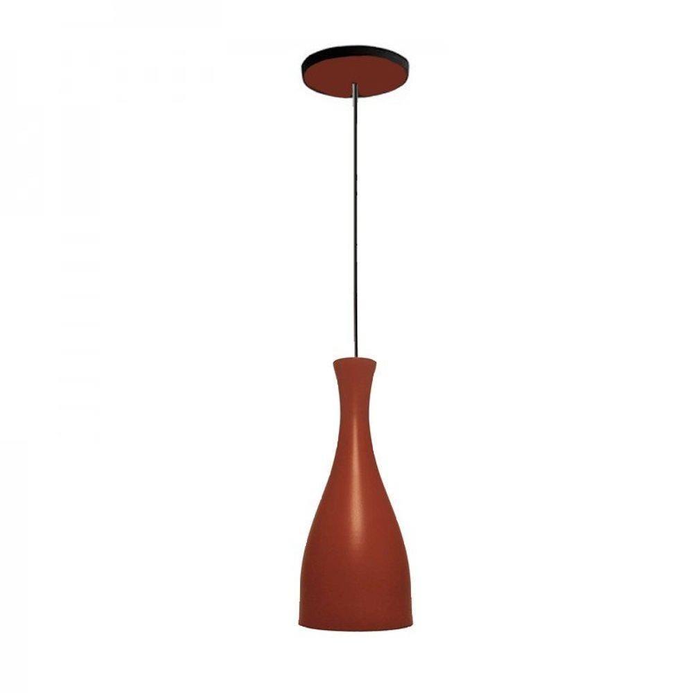 Luminária Pendente Design Td 1003 Fosco - Marrom Blend