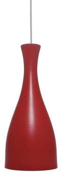 Luminária Pendente Desing Td 1003 E-27 - Vermelho
