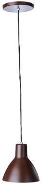 Luminária Pendente Desing Td 622/1 - Marrom Blend