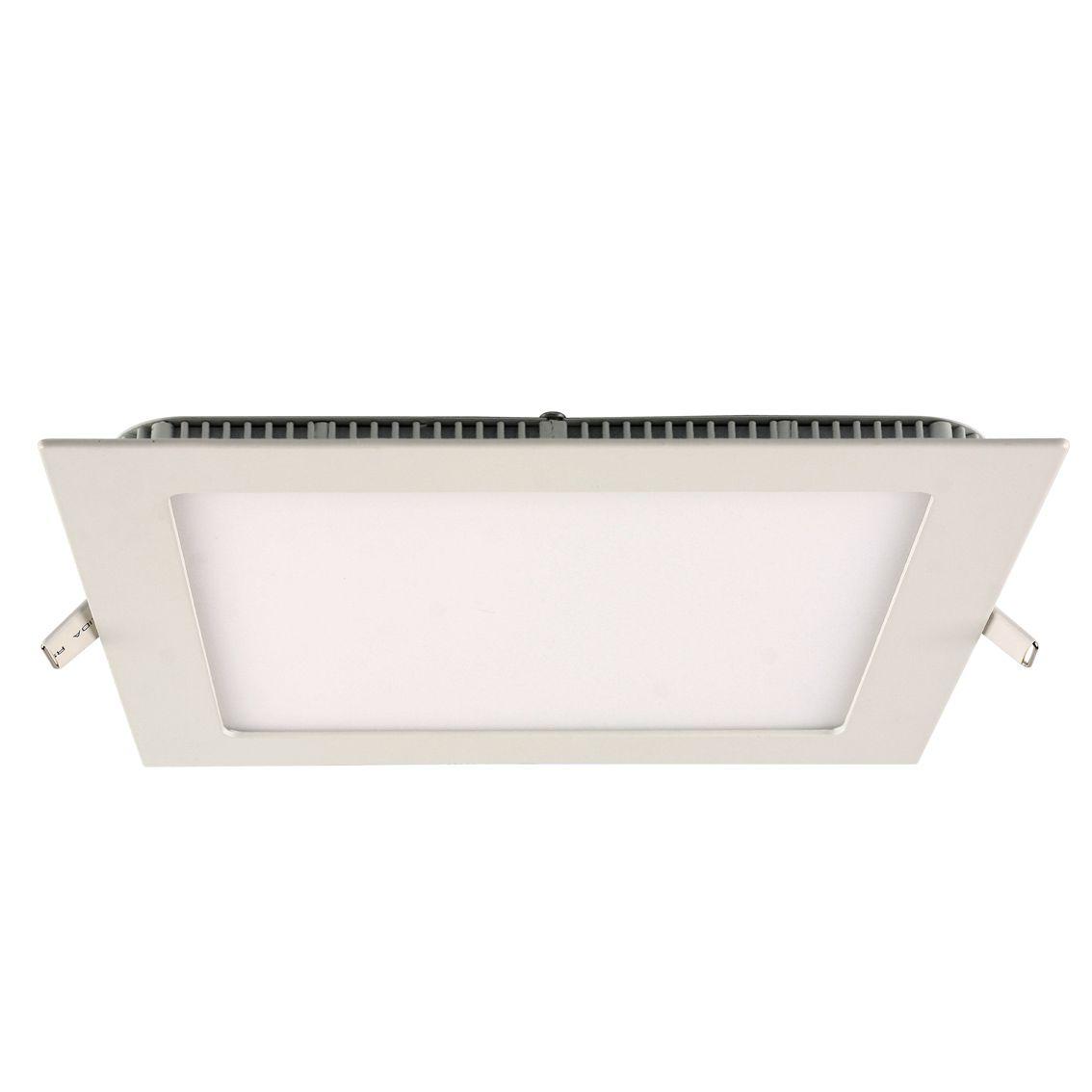 Painel Embutir Led Quadrado - 18w 6500k Bi-volt INATIVO