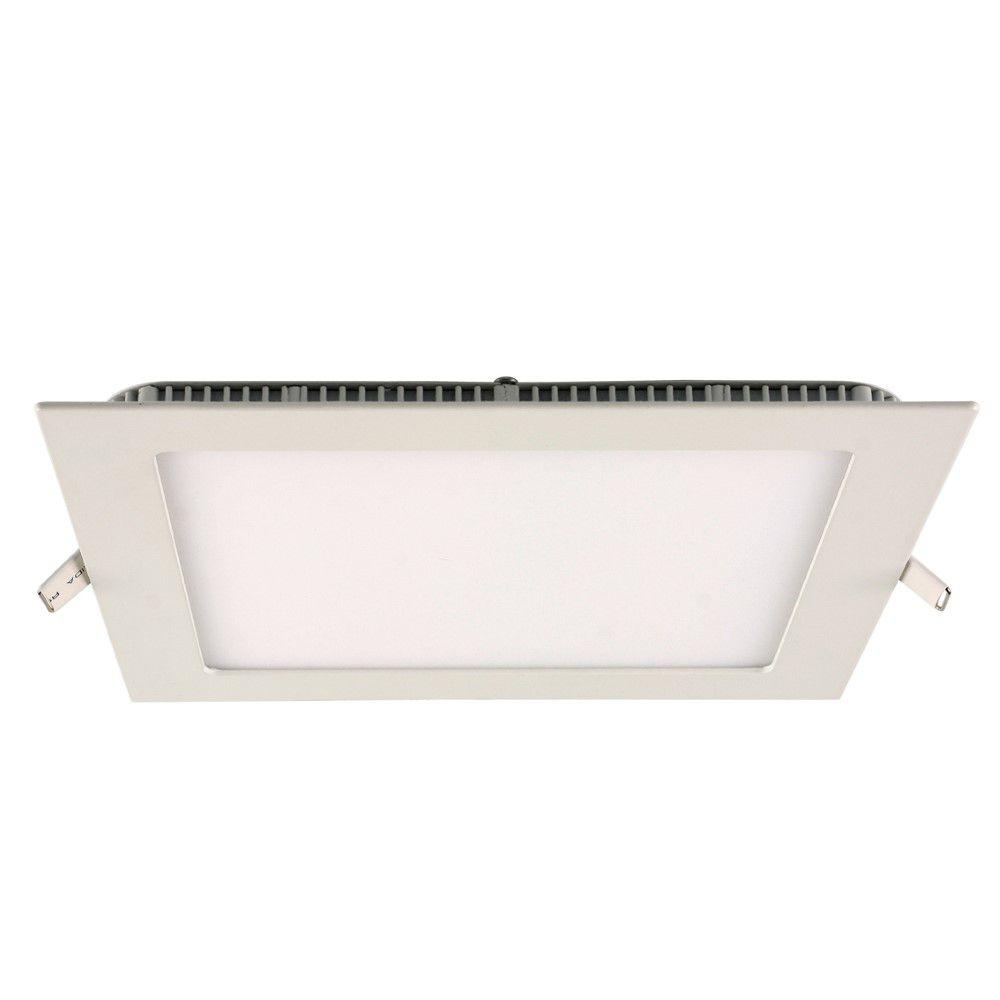 Painel Embutir Led Quadrado -  24w 6500k Bi-volt INATIVO