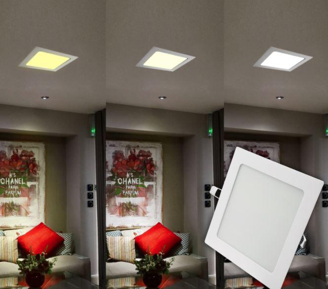 Painel Slim G-Light Quadrado 18W 3000/4000/6500K