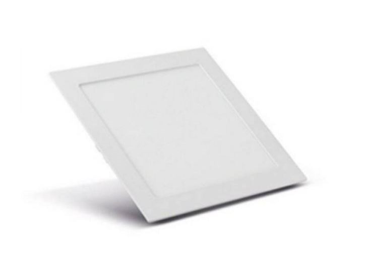 Painel Slim Led Quadrado Embutir 12w 6500k