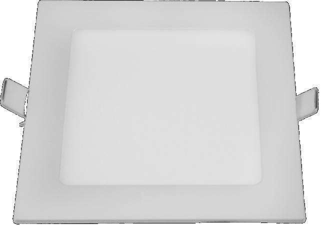 Painel Slim Led Quadrado Embutir 24w 6500k 127v