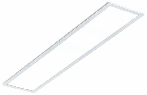Painel Slim Led Retangular Embutir 24w 6500k