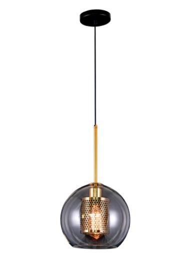 Pendente Globo Nórdico Dourado Fosco Moderno Lt-301 E27