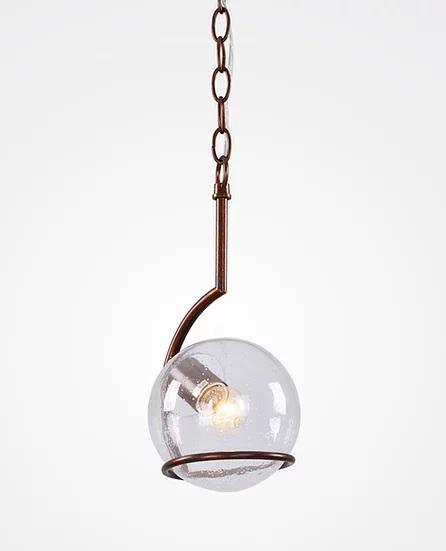 Pendente Sphere Aço e Metal - Marrom Cortain