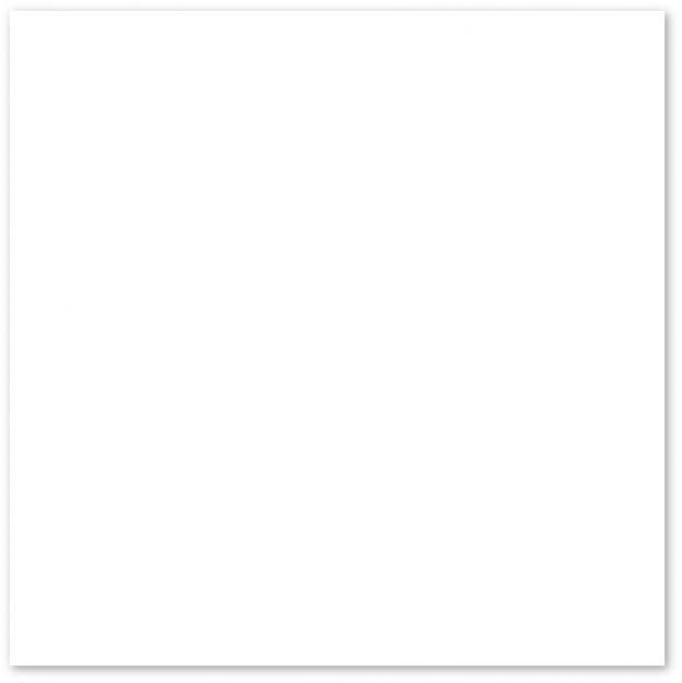 Piso Branco Neve Acetinado 44x44 - Cx.2,50