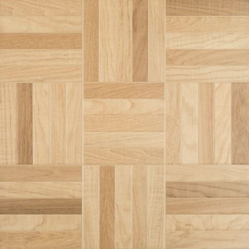 Piso Retificado Parquet Natural Mix Mate 60Cm x 60Cm