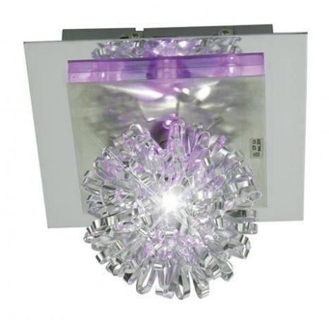 Plafon Lumin Spot Saphir 1xg4 170x170 - Crom/Led