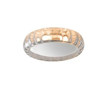 Plafon Moom Glass 220 Leitoso Plm-611 Branco