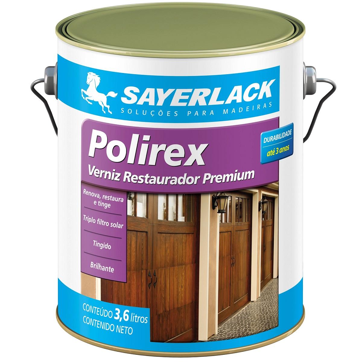 Verniz Polirex Mogno 3,60L