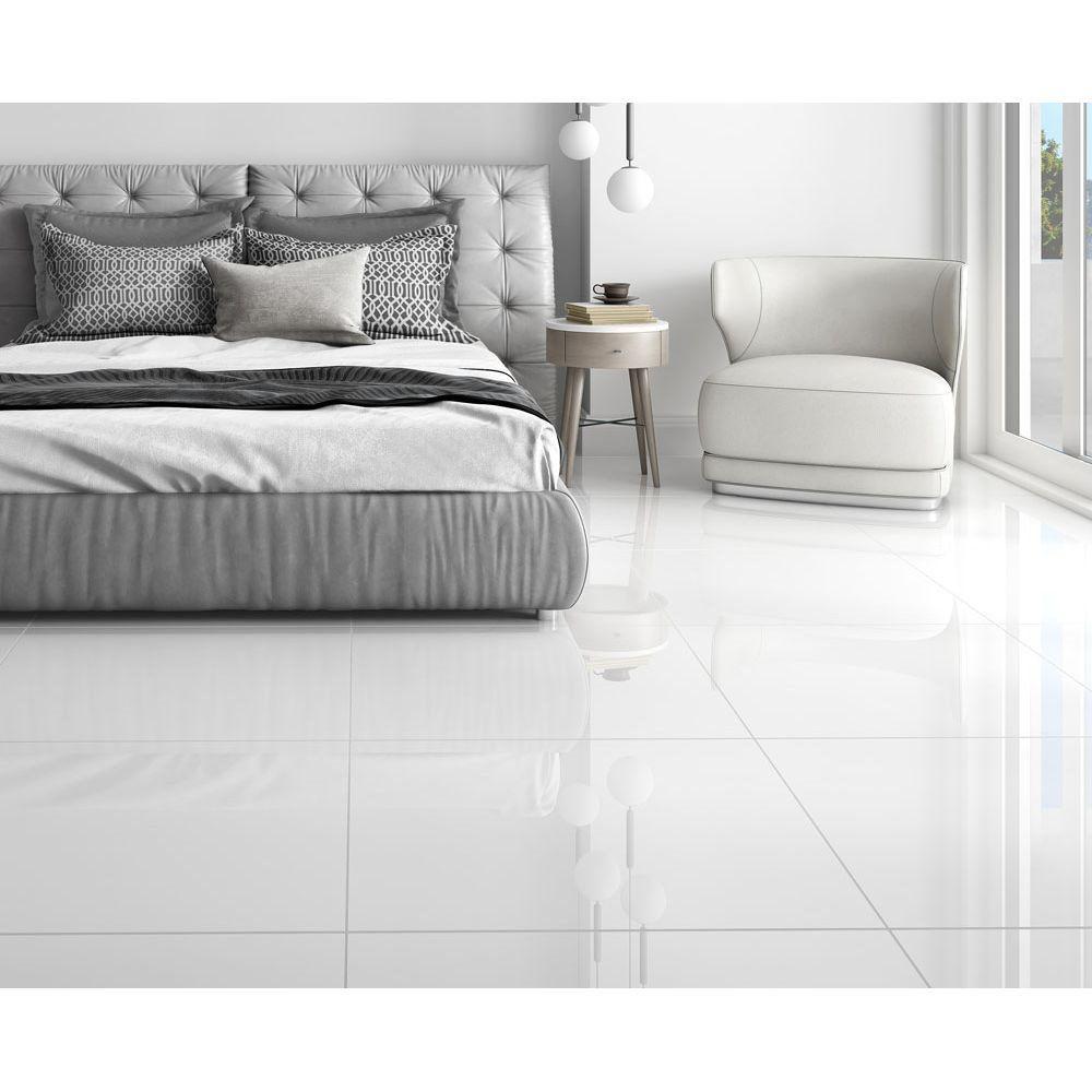 Porcelanato Polido 71x71 - White