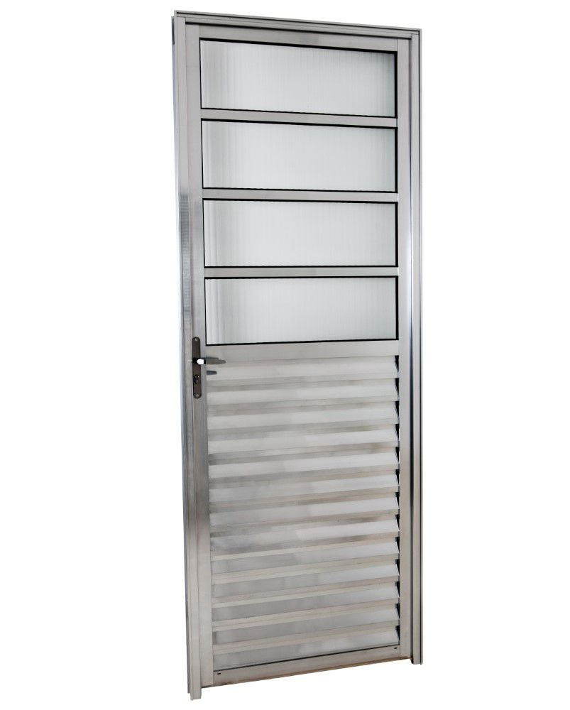 Porta C/Basculante Direita 210 X 70 - Alumínio