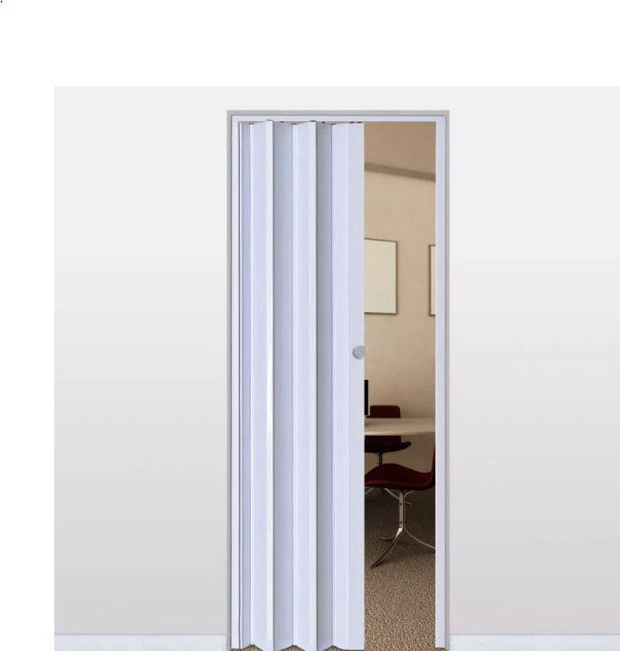 Porta Sanfonada Com Trinca - Branca