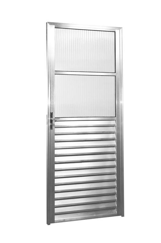 Porta V.Fixo Direito 2,10 X 70 - Alumínio