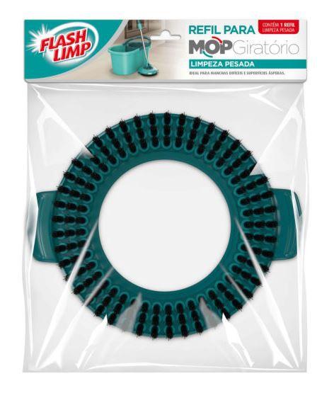 Refil Para Mop Giratório Fit Limpeza Pesada