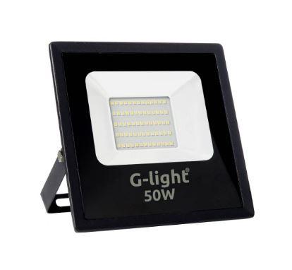 Refletor Led Slim 6500k 50w 4gen 120 Autovolt